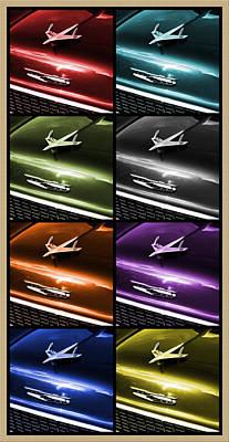 Gpdii Digital Art - 55 Chevy Bel Air by Gordon Dean II