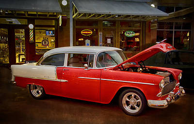 Photograph - 55 Chevy Belair by Saija  Lehtonen