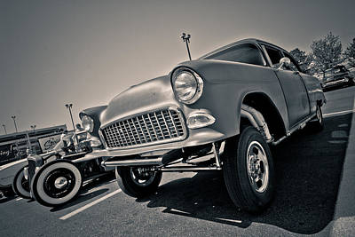 Kustom Photograph - '55 Gasser by Merrick Imagery