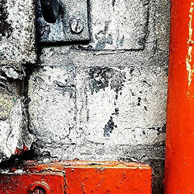 Abstract Wall Art - Photograph - Urban Wall 3 by Jason Michael Roust