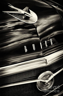 Fifties Buick Photograph - 56 Buick Century Riviera  by Tim Gainey