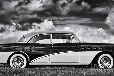 Fifties Buick Photograph - 56 Buick Two Tone by Tim Gainey