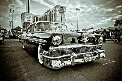 Photograph - 56 Chevy by Merrick Imagery