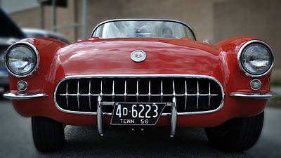 Photograph - 56 Corvette by George Taylor