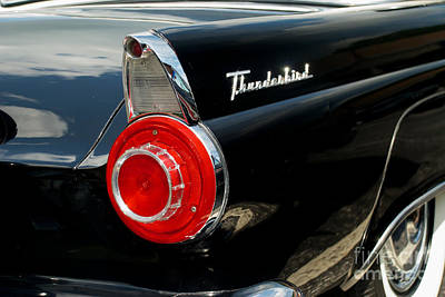 Photograph - 56 Ford Thunderbird by Mark Dodd