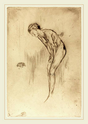 Tillie Drawing - James Mcneill Whistler American, 1834-1903 by Litz Collection