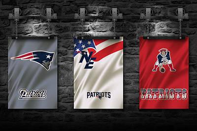 Bar Photograph - New England Patriots by Joe Hamilton