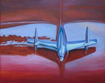 Painting - '56 Red by Shannon Grissom
