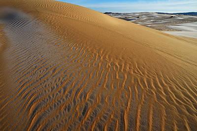 Celebrity Watercolors - Silver Lake Sand Dunes by Dean Pennala
