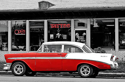 Art Print featuring the photograph '56 Tattoo by Christopher McKenzie