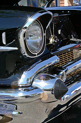 Photograph - '57 Chevy by Ann Ranlett