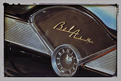 Photograph - 57 Chevy Bel Air Dash by Bill Owen