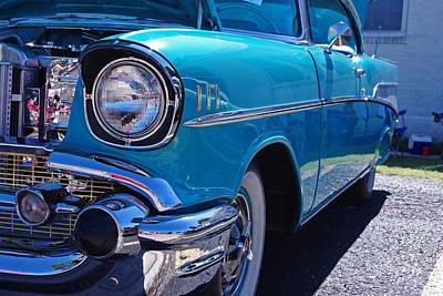 Photograph - 57 Chevy Bel Air Driver Side by Robyn Stacey