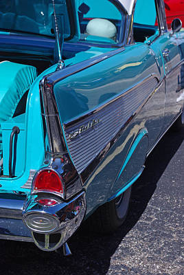 Photograph - 57 Chevy Bel Air Fin 3 by Robyn Stacey