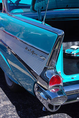 Photograph - 57 Chevy Bel Air Fin 4 by Robyn Stacey