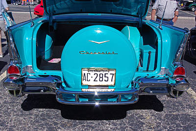 Photograph - 57 Chevy Bel Air Rear by Robyn Stacey