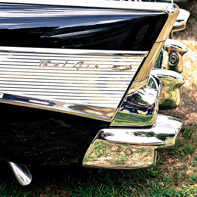 Photograph - '57 Chevy Bel Air by Ronda Broatch