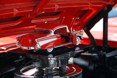 Catch Of The Day - 57 Chevy Bel Air by Beverly Stapleton