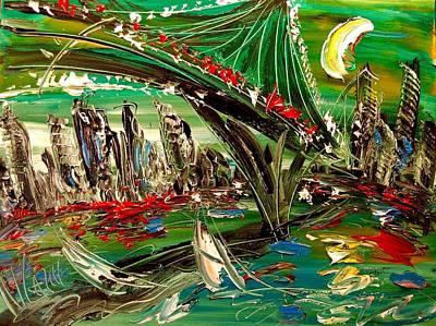 Harlow Painting - City by Mark Kazav