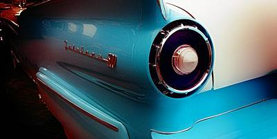 Old Cars Photograph - '57 Fairlane 500 by Aaron Berg