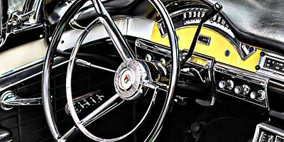 Old Cars Photograph - '57 Ford Fairlane 500 by Aaron Berg