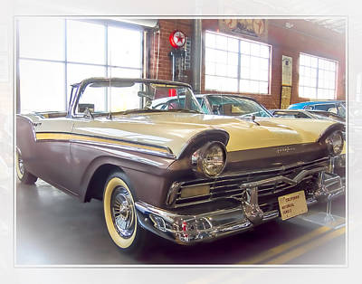 Photograph - 57 Ford Fairlane by Steve Benefiel
