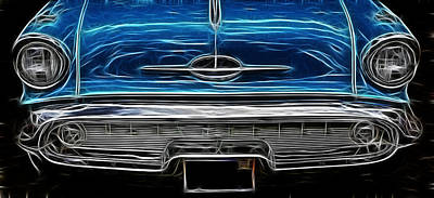 Photograph - 57 Oldsmobile 5 by Wes and Dotty Weber