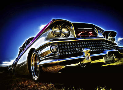 58 Buick Special Art Print by motography aka Phil Clark