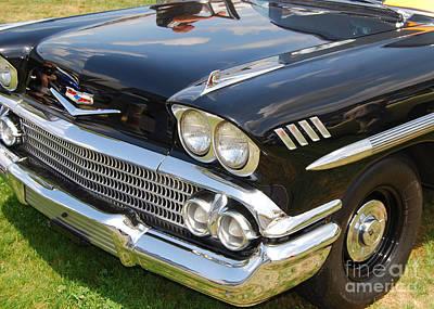 Photograph - '58 Chevy Impala by Mark Spearman