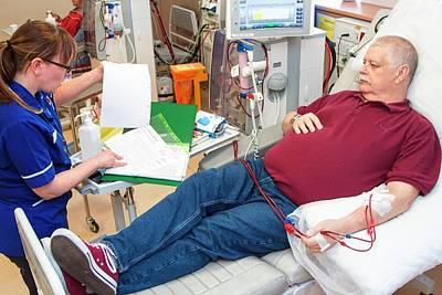 Self Photograph - Shared Care Dialysis Unit by Life In View