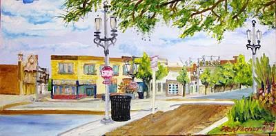 Citysape Painting - 5877 6th Ave Kenosha Wisconsin  by Kenneth Michur