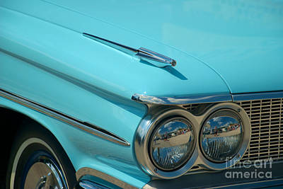 Photograph - 59 Pontiac Catalina Hood Ornament by Mark Dodd
