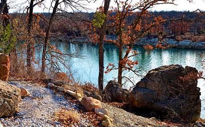 Photograph - 5921 Lake Murray Oklahoma by Ricardo J Ruiz de Porras