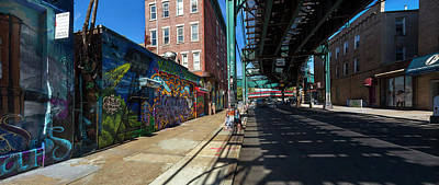 5pointz Aerosol Art Center, Long Island Art Print by Panoramic Images