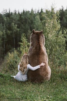 Brown Bear Wall Art - Photograph - * by Olga Barantseva