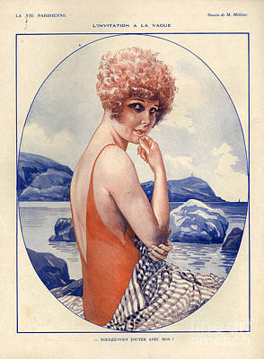 1920s France La Vie Parisienne Art Print by The Advertising Archives