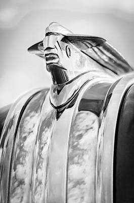 Photograph - 1948 Pontiac Hood Ornament by Jill Reger