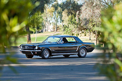 Photograph - 1965 Shelby Prototype Ford Mustang by Jill Reger