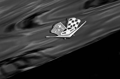 Photograph - 1967 Chevrolet Corvette Emblem by Jill Reger