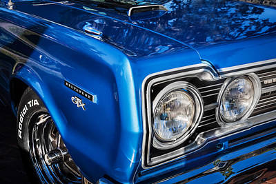 Photograph - 1967 Plymouth Belvedere Gtx 440 Painted  by Rich Franco