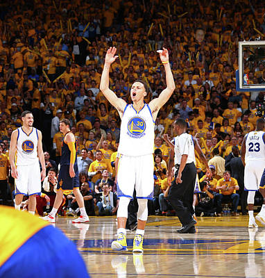 Photograph - 2015 Nba Finals - Game One by Nathaniel S. Butler