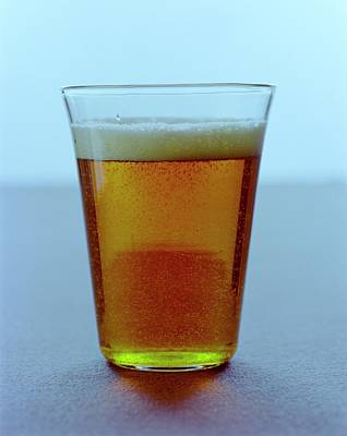 Beer Photograph - A Glass Of Beer by Romulo Yanes