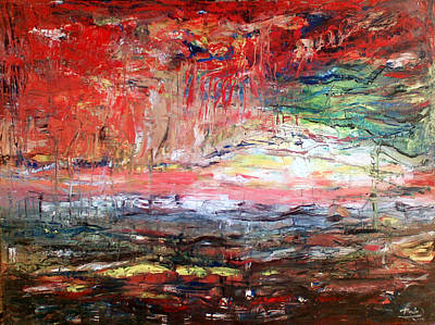 Abstract Art Print by Deeb Marabeh