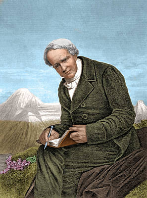 Photograph - Alexander Von Humboldt, Prussian by Science Source