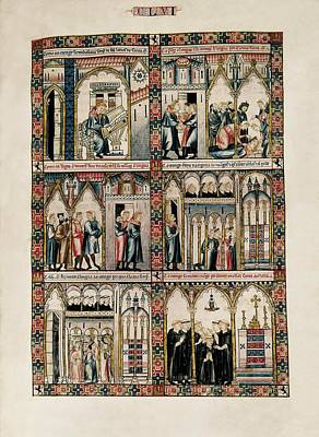 Alfonso X, Called The Wise 1221-1284 Art Print by Everett