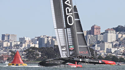 Photograph - America's Cup Oracle by Steven Lapkin