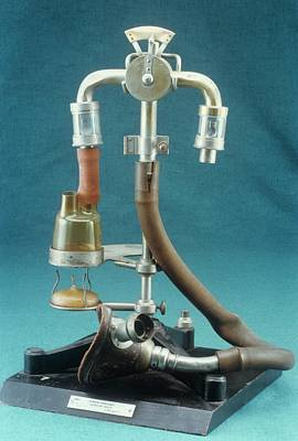 Anaesthetic Inhaler Art Print by Science Photo Library