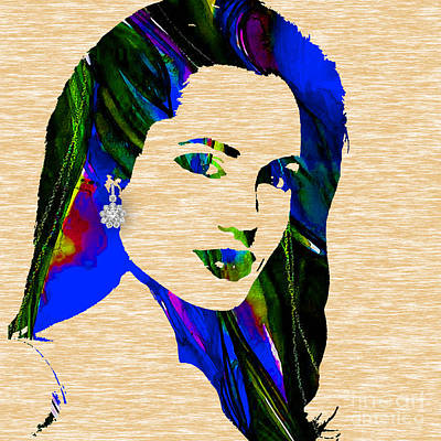 Actress Mixed Media - Angelina Jolie Collection by Marvin Blaine