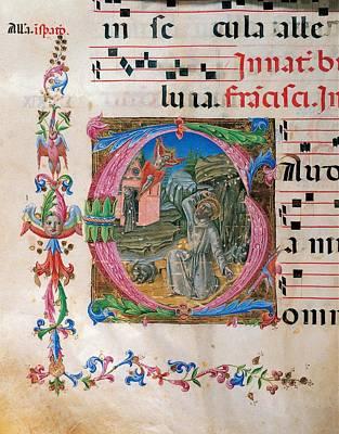 Anonymous Sienese Painter, Proprio Dei Art Print
