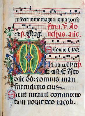 Anonymous Sienese Painter, Psalter Art Print by Everett